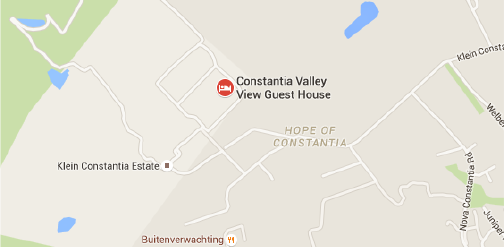 Constantia Valley Map