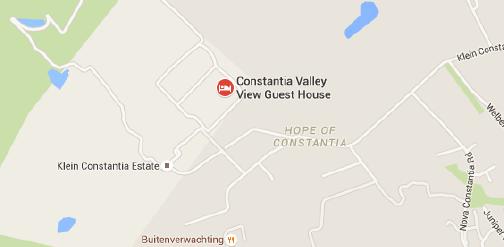 Constantia Valley Map
